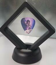Prince Guitar Pick Framed Icon Rock Music Singer Novelty Gift Present Desk Decor