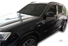 BMW X3 F25 5portes 2010-2018 Deflecteurs d'air Déflecteurs de vent 4pcs