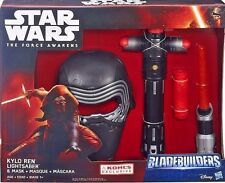 DISNEY STAR WARS BLADEBUILDERS KYLO REN LIGHTSABER & MASK EXCLUSIVE SET
