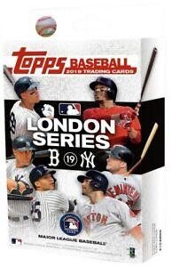 Topps Bowman London Series 2019 Red Sox New York Yankees Baseball Trading cards