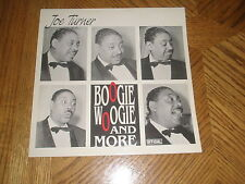BIG JOE TURNER / BOOGIE WOOGIE & MORE ~ Denmark Album Archival Copy ~ MINT