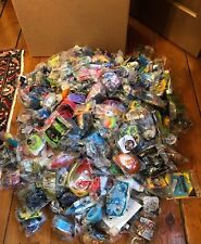 Huge Lot McDonald's Happy Meal & Other Toys Prizes Sealed 2009 Or Earlier 25+lbs