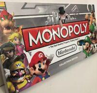 Brand new. Sealed. Nintendo Monopoly Board Game: Collector's Edition Mario Luigi