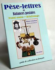 Pèse-lettres ou Balances postales