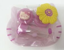 New Sealed 2009 Rare Sanrio Hello Kitty Small Soft Contact Lens Case Pouch Bag