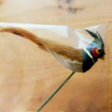 Artifical Bird For Floral Arrangements Or Decoration-Hard to find New Old Stock