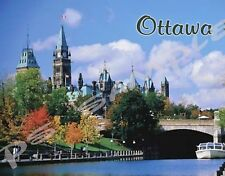 Canada - OTTAWA - Travel Souvenir Flexible Fridge Magnet