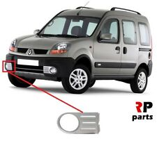 FOR RENAULT KANGOO 4x4 03-08 NEW FRONT BUMPER FOGLIGHT GRILLE SILVER RIGHT O/S
