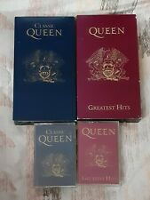 Lot Of Queen Greatest Hits & Classic Queen Vhs Tapes & Cassettes