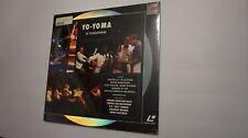 Yo-Yo Ma At Tanglewood NEW SEALED Laserdisc LD Free Shipping