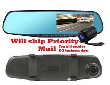 Dual cam Car Dash Camera Vehicle Front Rear DVR Lens Recorder HD Video 1080p