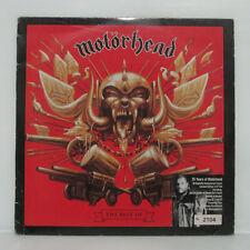 """MOTORHEAD - THE BEST OF 3LP 2000 UK ORIG Metal-is LTD NUMBERED w/ 7"""" LIVE EP"""