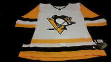 Pittsburgh Penguins Adidas Road White Pro Climalite Jersey Size 56! Fight Strap!