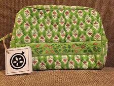 NWT Pomegranate Inc.  Large Cosmetic Bag Lime Provence
