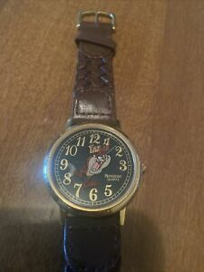 Taz Mania Devil 1984 Watch Armitron Carries The 4 On Minute Hand Vintage WOR