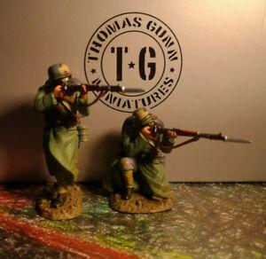 THOMAS GUNN**WW1 TWO GERMAN RIFLEMAN FIRING**GW028B**MINT IN BOX
