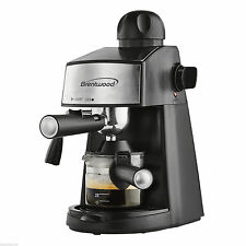 BRAND NEW BRENTWOOD ESPRESSO COFFEE & CAPUCCINO MAKER 800 WATT POWERFUL STEAMER