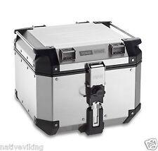 Givi TREKKER OUTBACK top box 42 L topbox TOP BOX CASE UK STOCK aluminium OBK42A