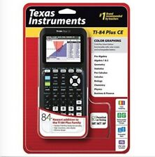 Texas Instruments TI-84 Plus Ce Graphing Calculator Brand New Ships Fast