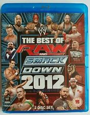 WWE THE BEST OF RAW AND SMACKDOWN 2012 - 2-Disc Set - Blu-Ray NEW & SEALED