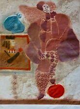 Theo Tobiasse Le Roi et la Pomme Rouge SIGNED HAND NUMBERED Etching/Carborundum