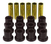 Prothane 6-1001-BL Leaf Spring Eye/Shackle Bushing Kit Fits 60-72 F-100