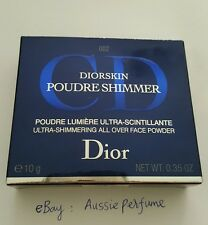 DIOR Dioskin POUDRE SHIMMER 002 AMBER DIAMOND Ultra-shimmering All Over Face