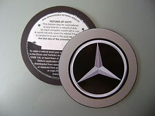 Magnetic Tax disc holder fits any mercedes ie coupe a b c e class c 220 slk 55 i