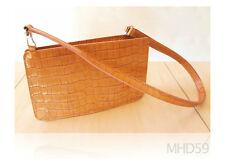 Handbag FURLA Embossed CROCO . Limited Collection ITALY 100% Genuine Leather