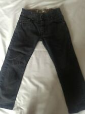 LEVI Authentics Signature Black Straight Legged Jean Size 6 Regular