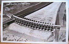 Montana Rppc Fort Peck Dam Spillway Gates Photo 1939 Coles 353 Missouri River