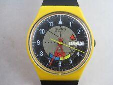 Vintage Swatch Watch 1985 Yamaha Racer GJ700 WORKING!!!