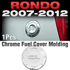 Chrome Fuel Cover Cap Garnish Molding Trim A255 For KIA 2007-2012 Rondo / Carens
