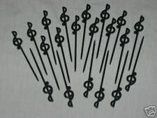 "Treble Clef Music Party Picks 20-Pack 3.5"" Long Great for Parties NEW in Bag"