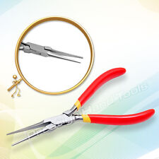 "Prestige Long chain nose Pliers Needle Jewellery making fishing tools 6"" # 296"