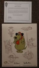 """Muttley Persona"" Ltd Ed Cel SIGNED Hanna Barbera Animation Art Dog Canine"