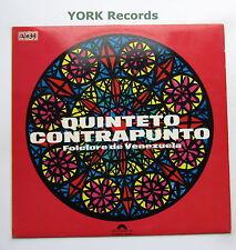QUINTETO CONTRAPUNTO - Folclore de Venezuela - Ex Con LP Record Polydor 184 010