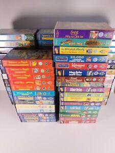 Walt Disney Brand New VHS Tapes with Movie Cartoon Animation Disney Various PAL