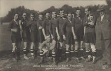 FOOTBALL JUEGOS OLIMPICOS 1924 EQUIPE DE HONGRIE 164  REAL PHOTO