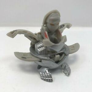 Bakugan Flash Ingram Gray Haos Mechtanium Surge 750G Die cast feet Spin Attack