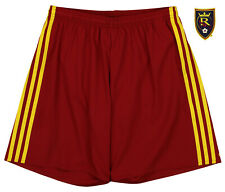 adidas MLS Men's Adizero Team Color Short, Real Salt Lake-Red
