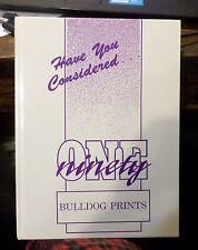 "1990-1991 Baldwin High School Baldwin City Kansas Yearbook ""Bulldog Prints"""