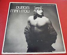 Rare Album LP vinyl Claude Dubois Manitou !