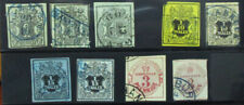HANOVER GERMAN STATES EARLY POSTMARKED SINGLES