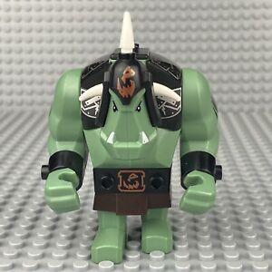 LEGO Castle Fantasy Era Giant Troll Minifigure Sand Green w/ Black Armor 7097