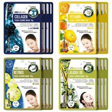 Mitomo Facial Anti-Aging Skincare Beauty Face Pack Sheet bundles: 4 types–16pkts
