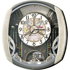 F/S NEW SEIKO Disney Time Automaton Clock FW563A Wall Clock Type from Japan