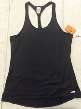 NWT Women's C9 by Champion Fitted Racerback  Workout Tank Top Ebony Sz M