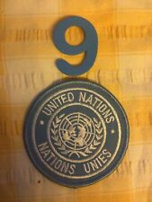 More details for united nations peacekeeper issued patch