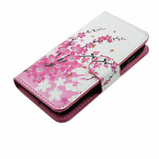 PU Leather Card ID Magnetic Pocket Cover Case For Samsung Galaxy Mobile Phones